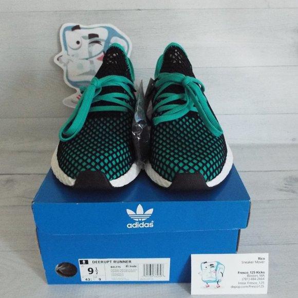 adidas Shoes   Deerupt Aqua Sz Mens 95